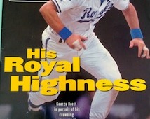 Sport Illustrated October 5, 1992 George Brett Kansas City Royals Free Shipping