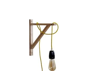 Wall Lamp, Wooden Wall Sconce, Wall Sconce, Wall Sconce Light, Scandinavian Lamp, Wall Sconce Lighting, Wall Sconce Plug In, Scandinavian