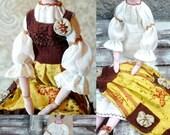 Christmas in July  Liliya Tilda doll Textile Interior doll Boho style doll OOAK Handmade doll Cloth Art Doll