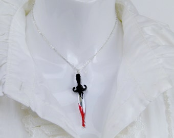 Dagger Necklace (Snow White Inspired)