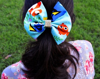 Handmade Finding Nemo Bow