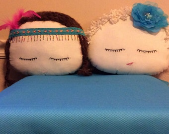 "My  ""Sweet Doll pillows"" any age girl would love even your teen."