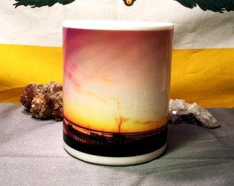 Colorful Docks Ceramic Coffee Mug