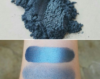 Sea Jewels - Shimmering Blue, Mineral Eyeshadow, Mineral Makeup, Pressed or Loose