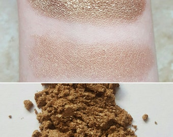 Freya - Light Brown, Pale Brown, Mineral Eyeshadow, Mineral Makeup, Vegan