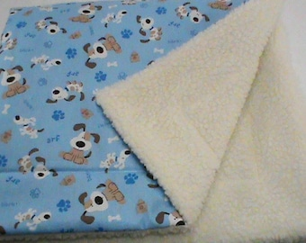 Sherpa Dog Blanket, pet blanket, puppy blanket, pet blanket