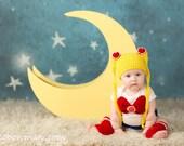 Sailor Moon Inspired Baby Set
