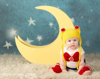 Sailor Moon Inspired Baby Set
