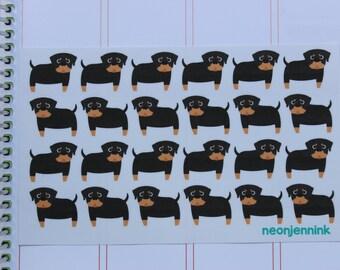 Rottweiler Stickers