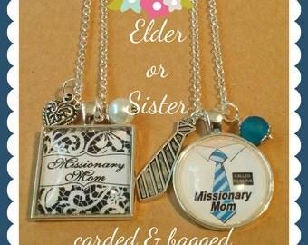 Missionary Mom Keepsake Necklaces