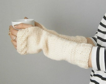 Knit armwarmers gift ideas for her fingerless gloves knit fingerless gloves Fast Delivery