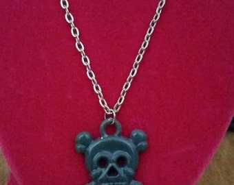 Skull Necklace- Variable Colors
