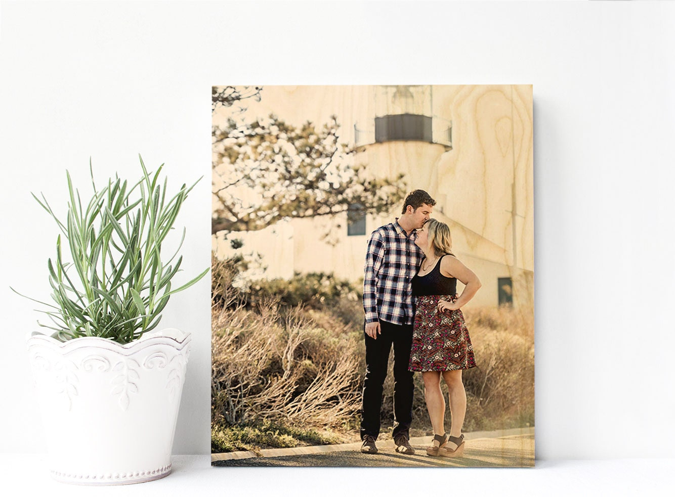 5th Anniversary Gift For Her 5th Anniversary Gift Wood Photo