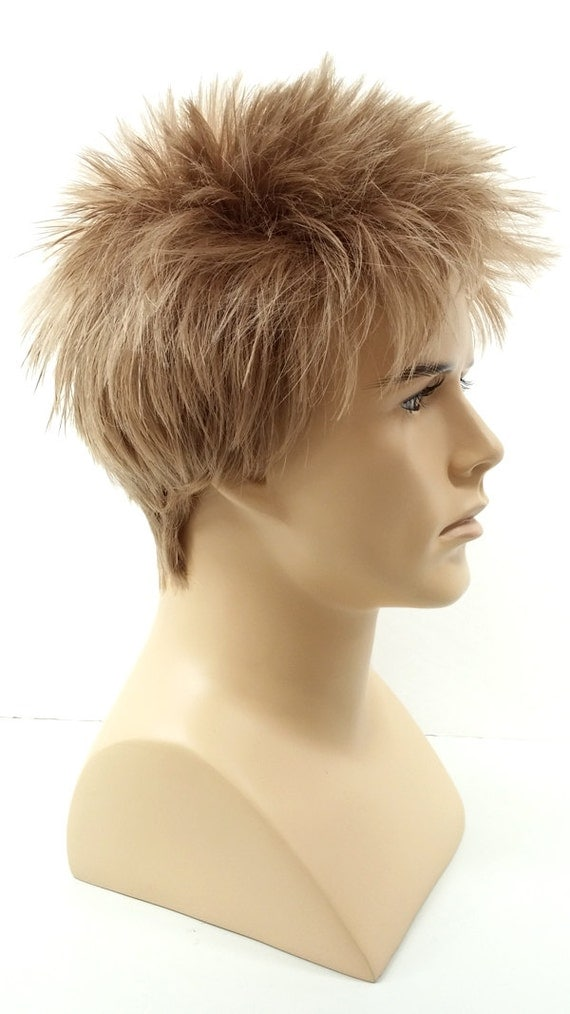 Mens Blonde Spiky Wig Wigs By Unique