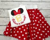 Minnie Mouse shirt - adult Minnie Mouse shirt- girls Minnie Mouse shirt - infant Minnie Mouse shirt