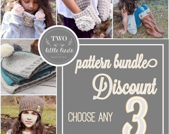 Crochet Pattern Bundle {3}