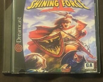 SALE! Shining Force II Custom Sega Dreamcast Game. Free Shipping! 2