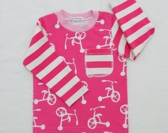 Organic Baby Long Sleeve Shirt,Organic Toddler Shirt
