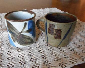 Stoneware Mugs- handmade