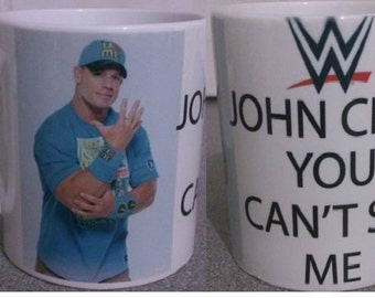 WWE john cena you can't see me mug 218