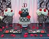 """Custom """"NUMBER"""" Cake Topper"""