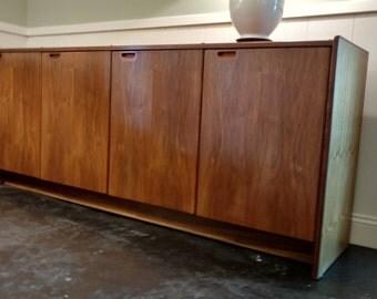 Mid Century Danish Modern Rosewood Buffet / Sideboard