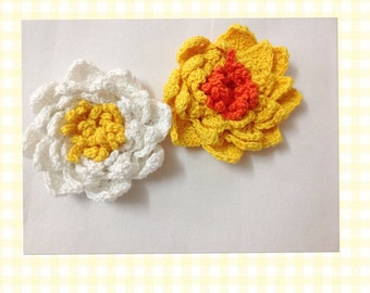 Crochet Lily Flower pattern