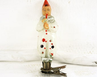 Vintage Christmas Ornament Glass Christmas Ornament Tree Decoration Boy t221