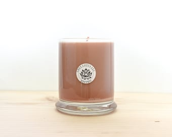 Coffee Candle || Hand Poured || Organic Soy Candle // 9 oz. Glass