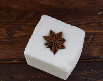 Organic Bath Bomb - Frankincense Bath Bomb - Bath Bomb Gift -All Natural Bath Bomb - Aromatherapy Bath Bomb - Spa Gift - Gift for Her - 4oz