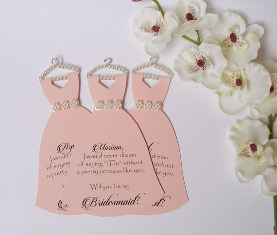 Bridesmaid Invitation Gift Will You Be My Bridesmaid Bridal Party Anouncement Bridesmaid Invitation Bridal Shower Maid of Honor