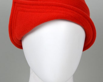 """Cloche hat, 20iess style, fabric hat, wool, cashmere, vintage style, """"Jazzy"""""""