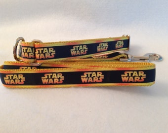Star Wars Inspired Martingale Collar Star Wars Collar and Leash Set, Star Wars Leash, Medium