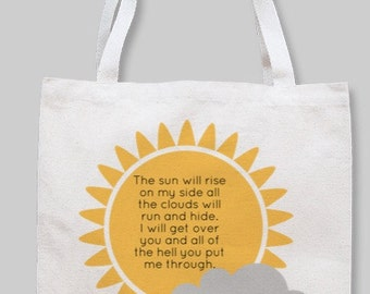 Lyrical Tote bag