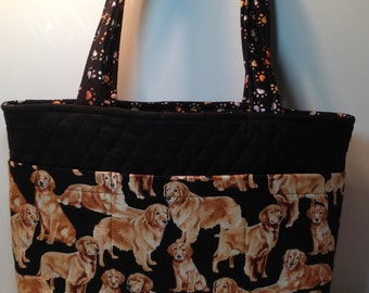 Golden Retriever 6 Pocket Bag