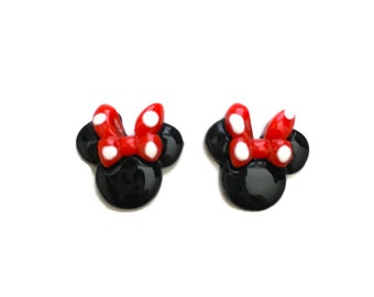 Minnie Mouse Inspired Disney Earrings