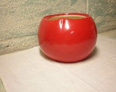 SALE McCoy Tomato Cookie Jar-Bottom