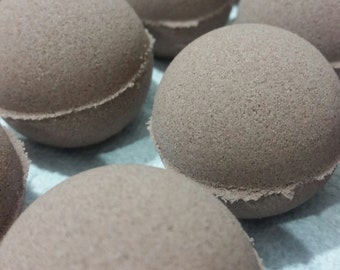 Brownie Batter Bath Bomb ~ Chocolate, Cocoa Powder, Decadent, Coconut Milk