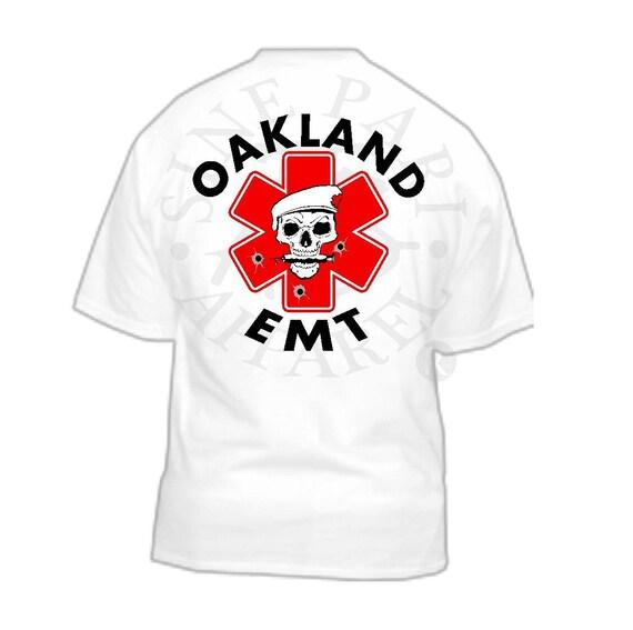 Oakland Emt Custom T By Atbsinepariapparel On Etsy