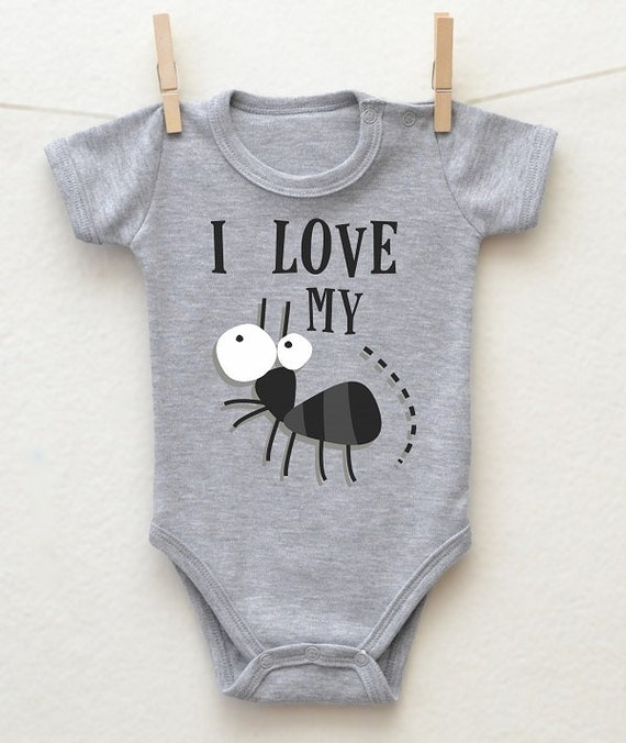 I Love My Aunt Infant Baby Shirt Funny By Littleprincesstara