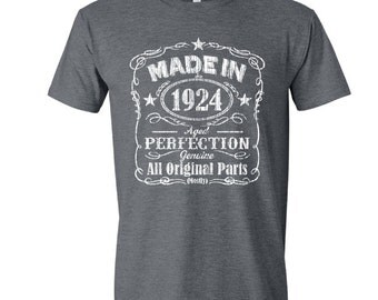 1924 birthday, 1924 shirt, 1924 T-Shirt, 1924