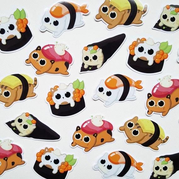 Sushi Cat Sticker Pack