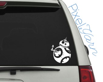 BB8 Thumbs Up! Decal 6""