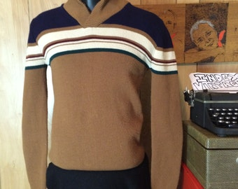Vintage 1970's/ 1980's Italian Sweater Bambergers Men's M