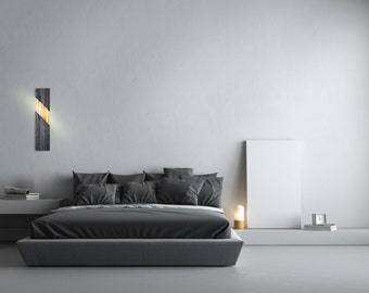 Mid Century Sconce | Modern Light | Minimalist Sconce | Modern Sconce | Mid Century Designer | Chevron | Modern Lighting | Dash Sconce |