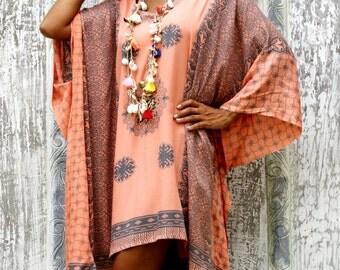 Tassel Dress/Poncho Tassels/Short dress tassels/Summer poncho/Beach Wear * LOOSE PONCHO LUNA