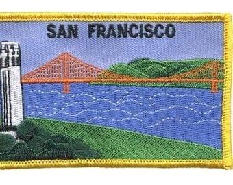San Francisco Patch - Golden Gate Bridge and Coit Tower