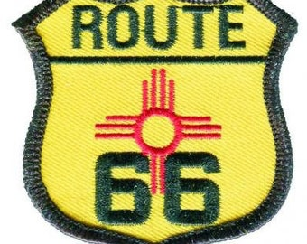 New Mexico Route 66 Patch (Iron on)