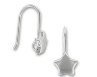 Silver Stars Earrings