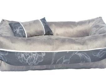 Dog Bed SARATOGA grey
